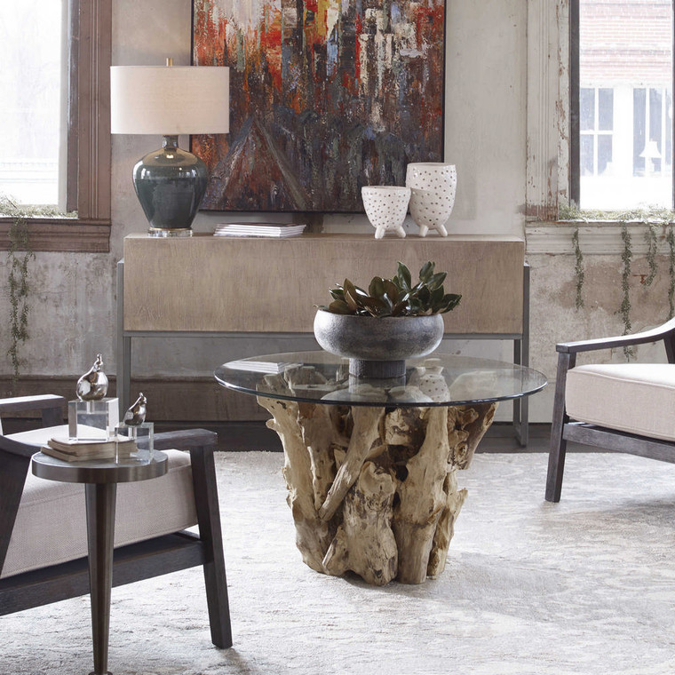 Driftwood Cocktail Table by Uttermost