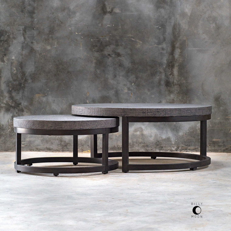 Aiyara Nesting Tables S/2 by Uttermost