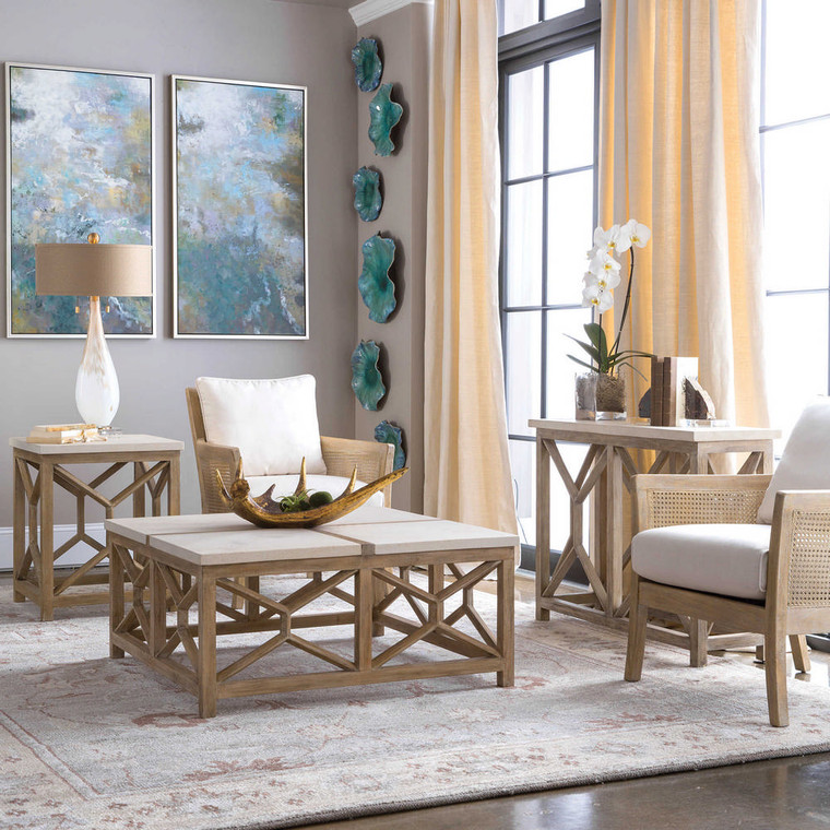 Catali End Table by Uttermost