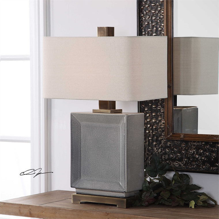 Abbot Table Lamp - by Uttermost