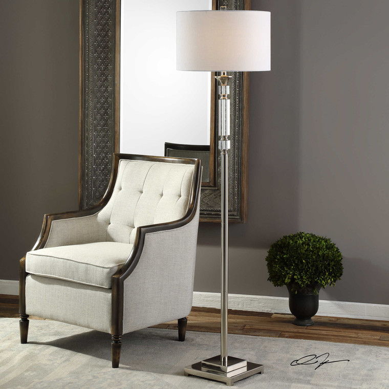Volusia Floor Lamp by Uttermost