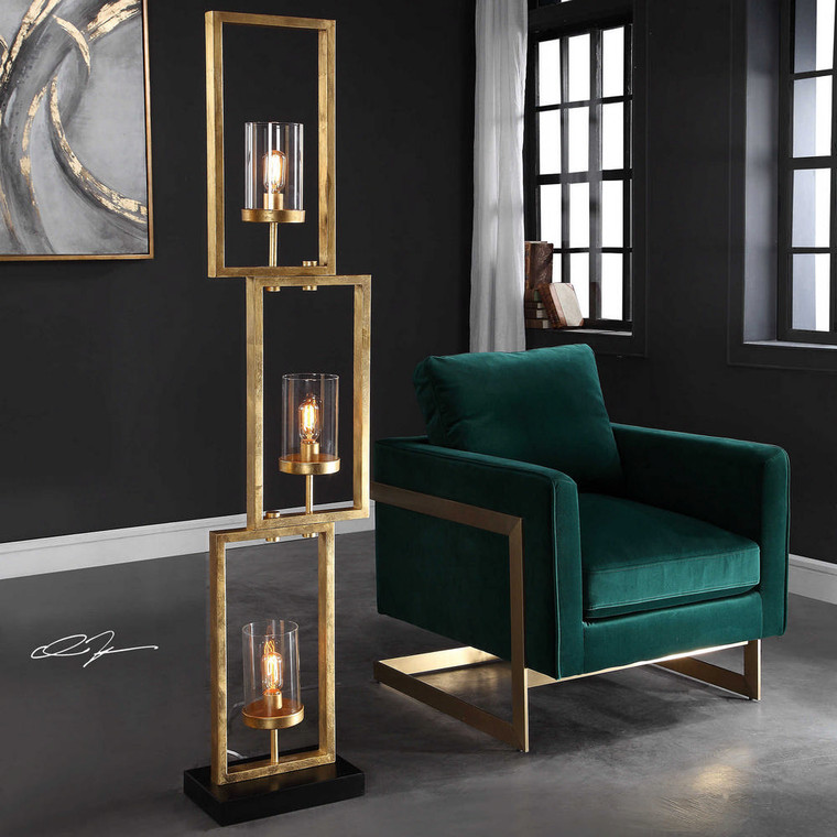 Cielo Floor Lamp by Uttermost