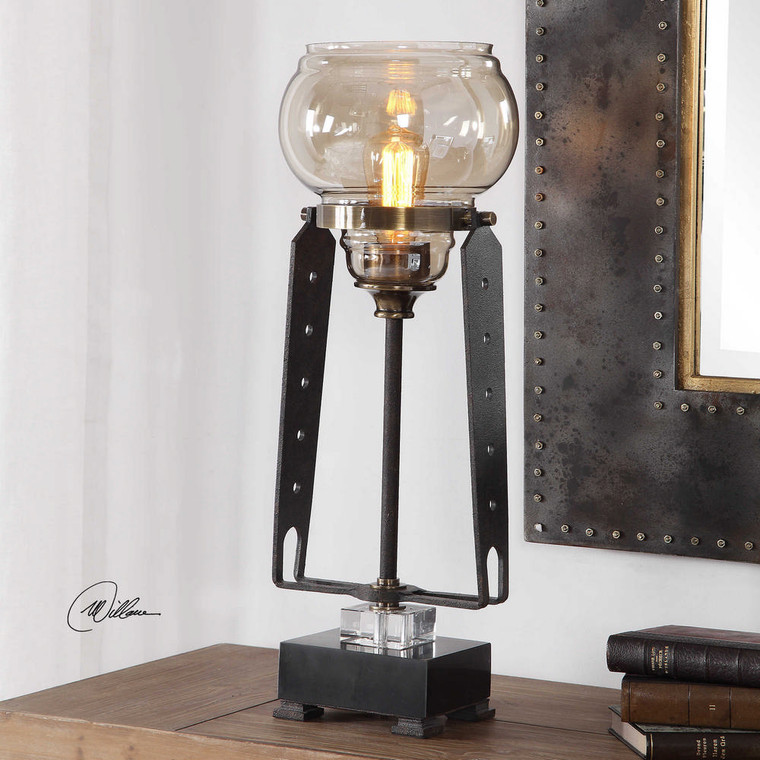 Curie Accent Lamp by Uttermost