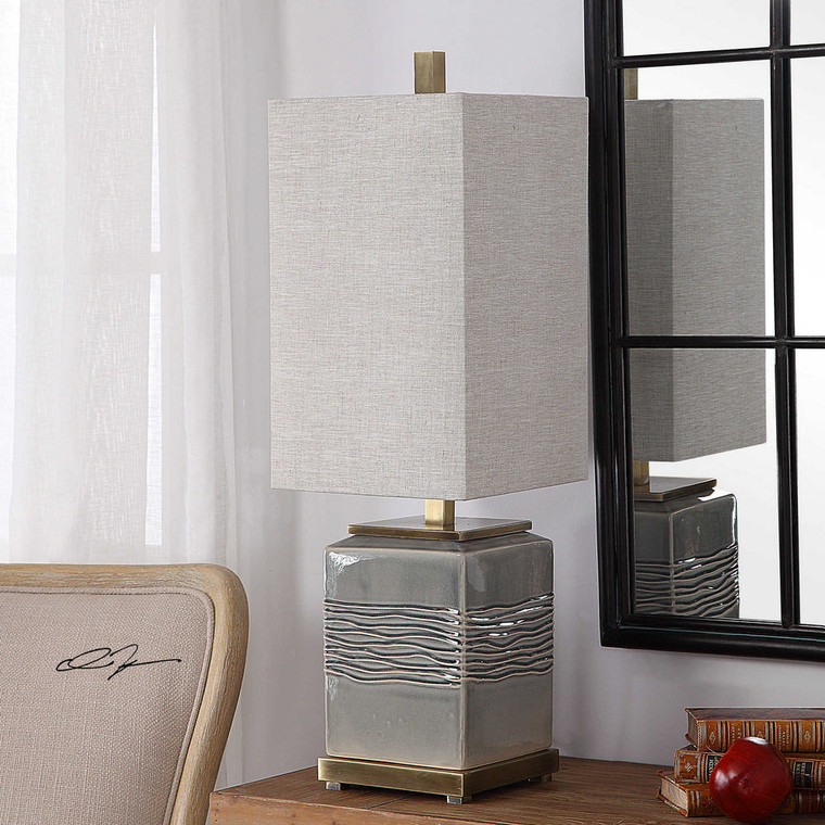 Covey Buffet Lamp by Uttermost