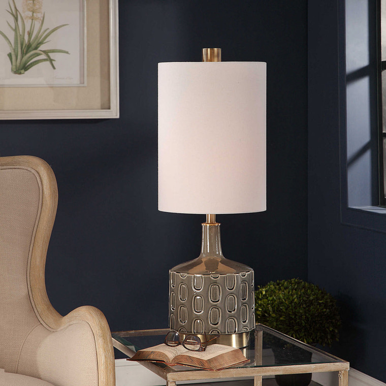 Darrin Gray Table Lamp by Uttermost
