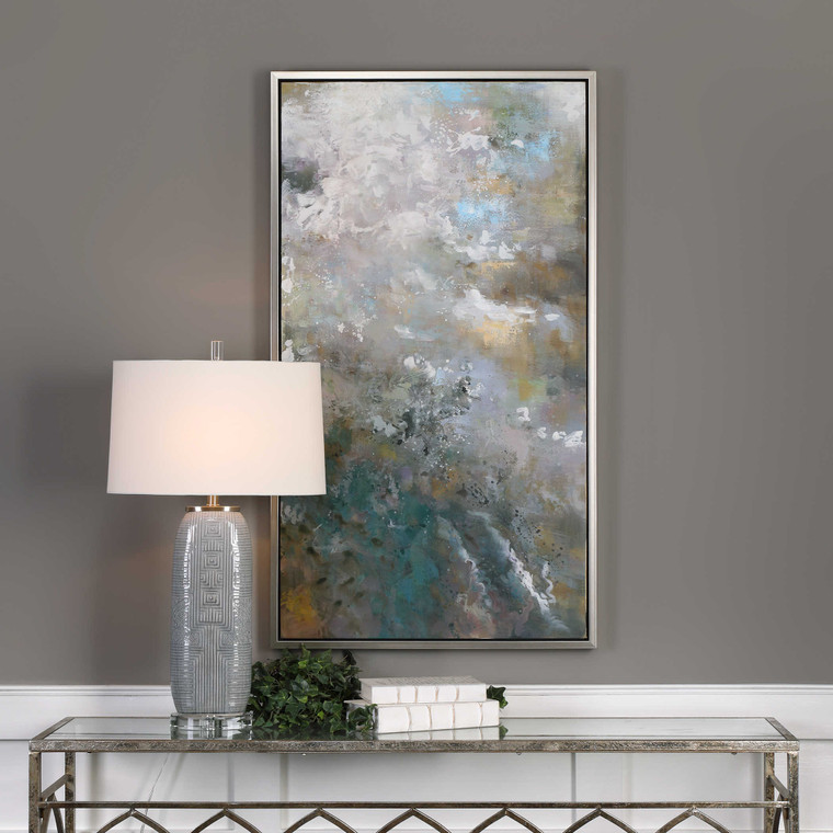 Roaring Thunder Hand Painted Canvas by Uttermost