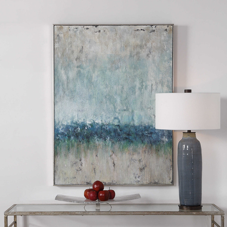 Tidal Wave Hand Painted Canvas by Uttermost