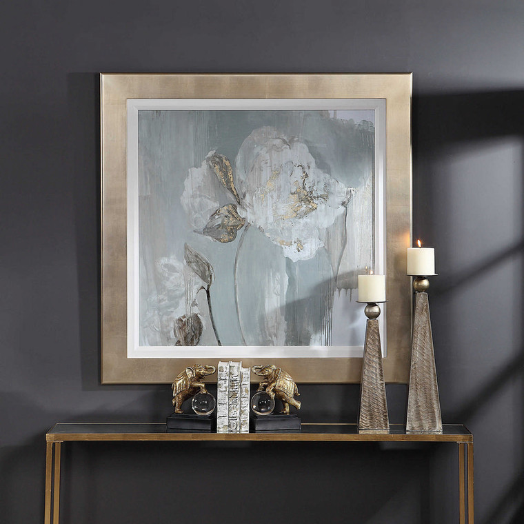Golden Tulip Framed Print by Uttermost
