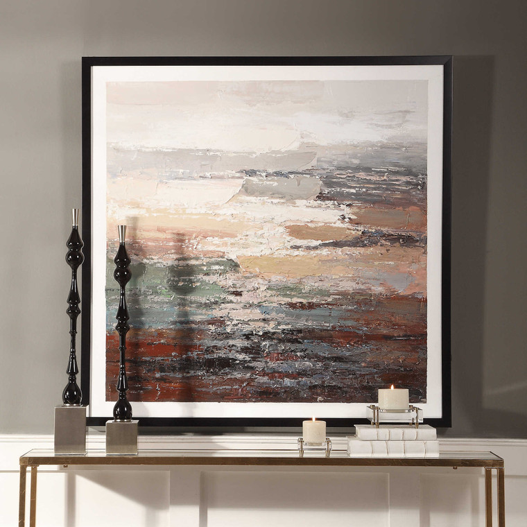 Tides Hand Painted Canvas by Uttermost
