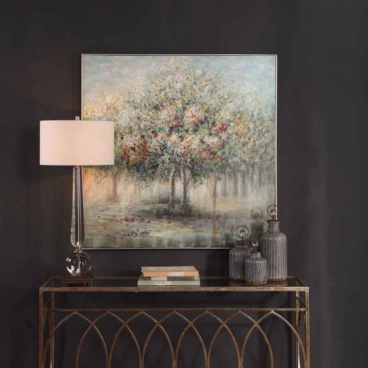 Fruit Trees Hand Painted Canvas by Uttermost