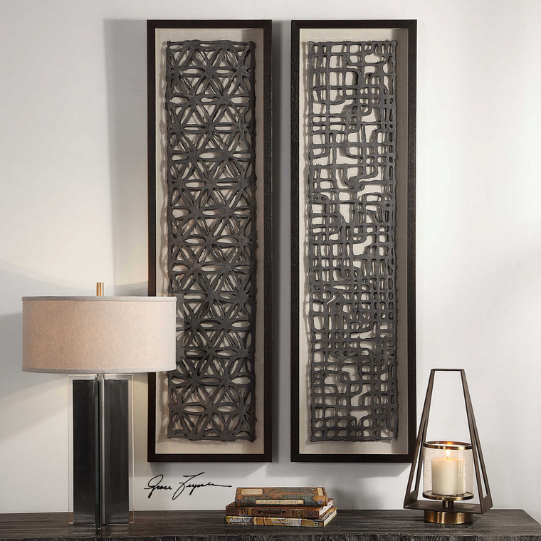 Caroni Shadow Box S/2 by Uttermost