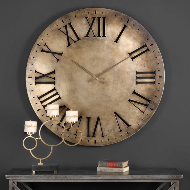 Henrik Wall Clock by Uttermost