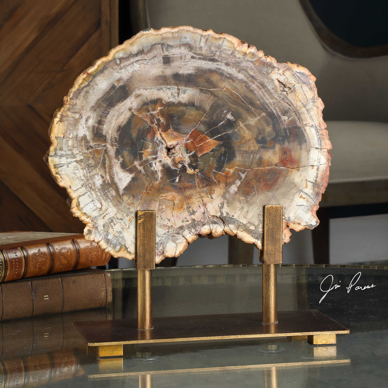 Petrified Wood Sculpture by Uttermost
