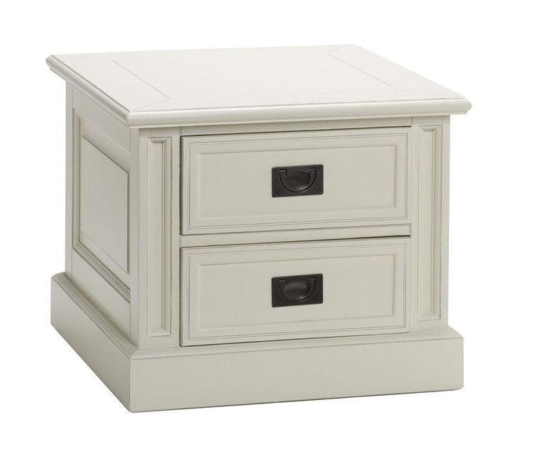 Bella House Classic End Table 2 Drawer