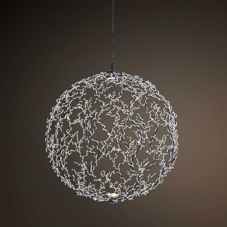 Astrid 2 Lt. LED Dimmable Pendant by Uttermost