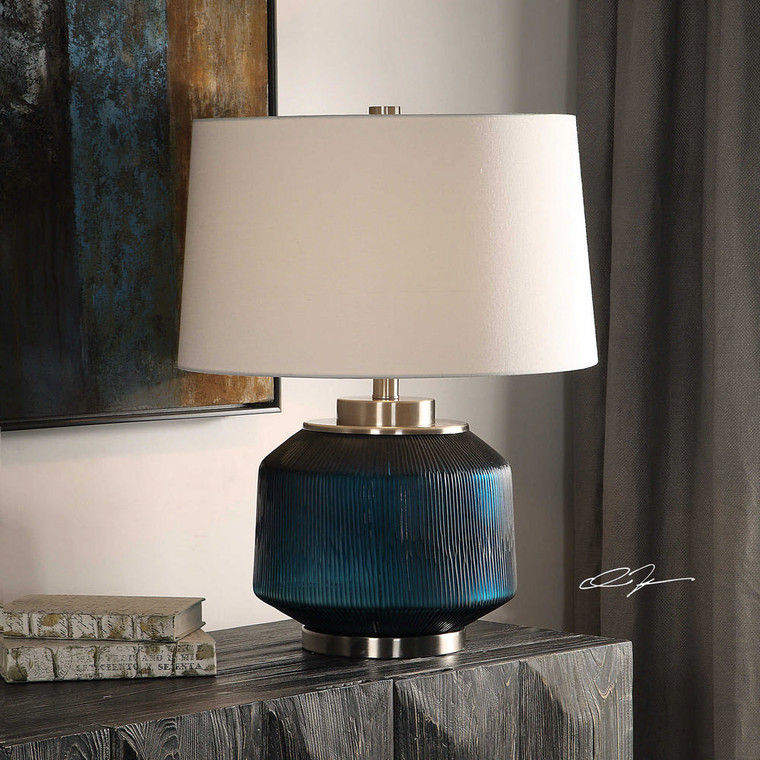 Basiah Table Lamp by Uttermost