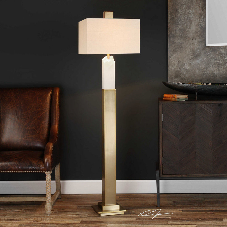 Ebena Floor Lamp by Uttermost