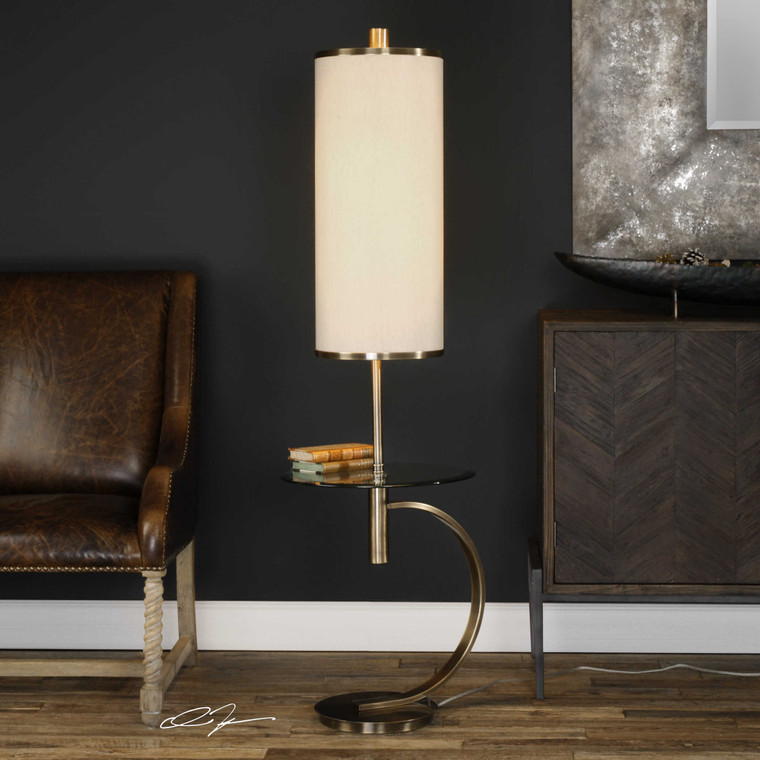 Nadenka Floor Lamp by Uttermost