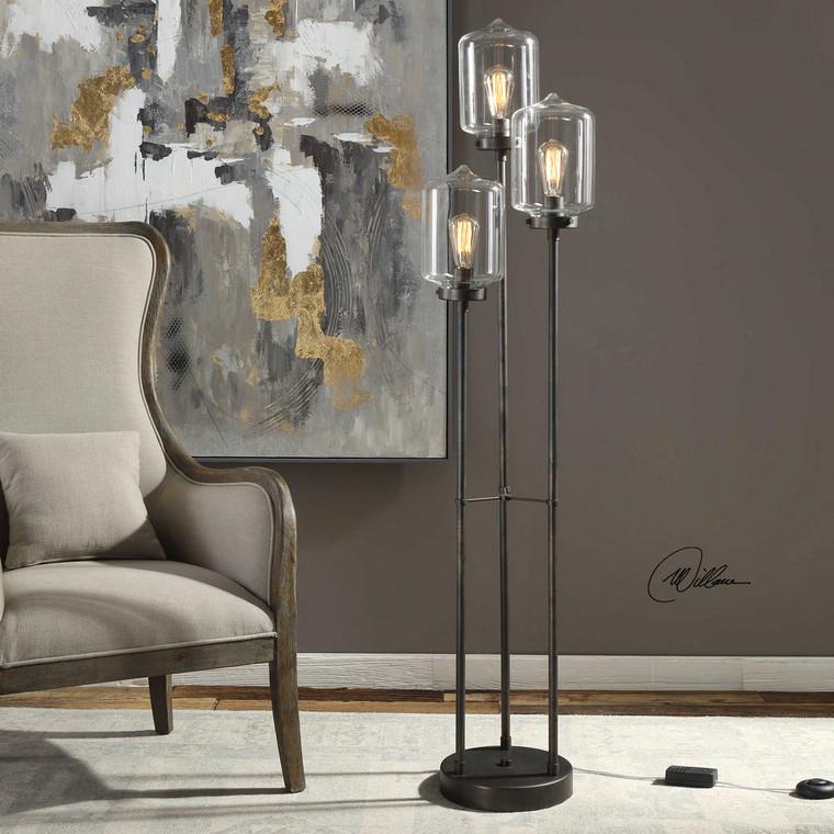 Collis Floor Lamp by Uttermost