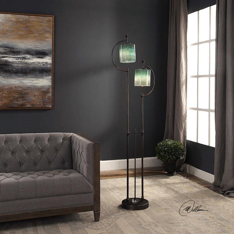 Farraige Floor Lamp by Uttermost