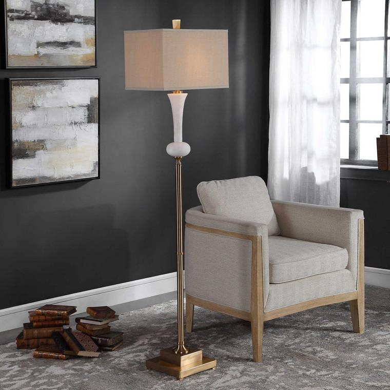 Carron Floor Lamp by Uttermost
