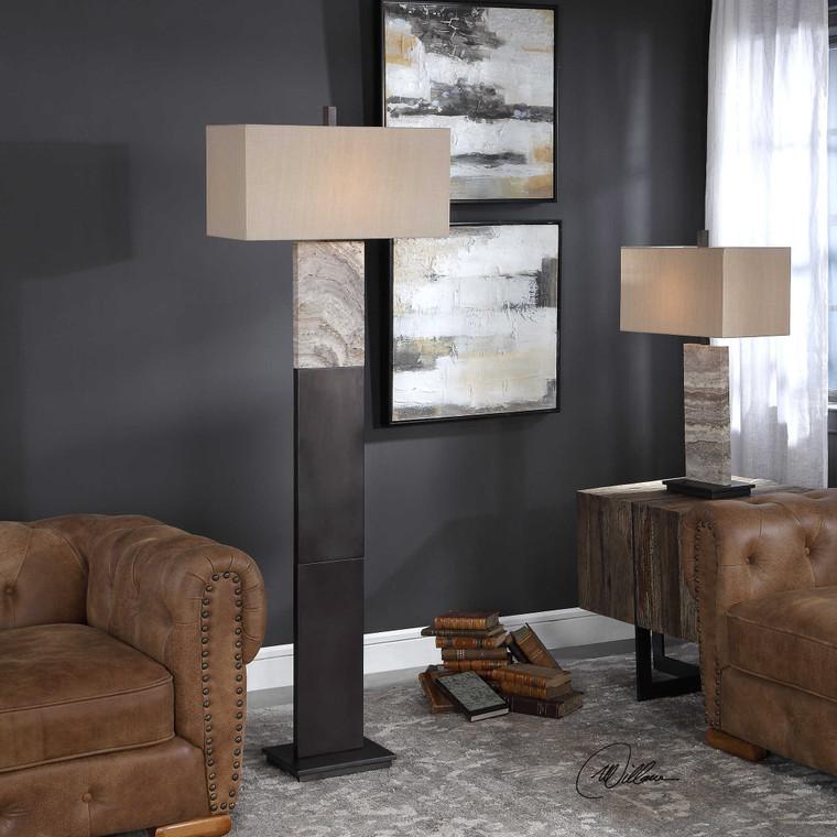 Seton Floor Lamp by Uttermost