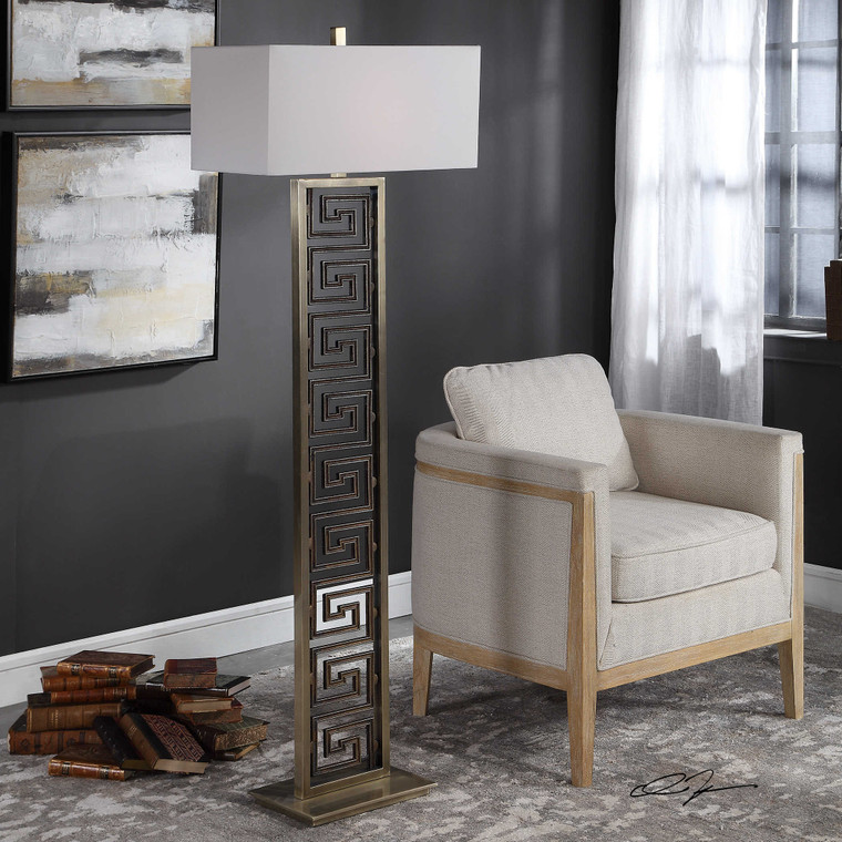 Macedon Floor Lamp by Uttermost