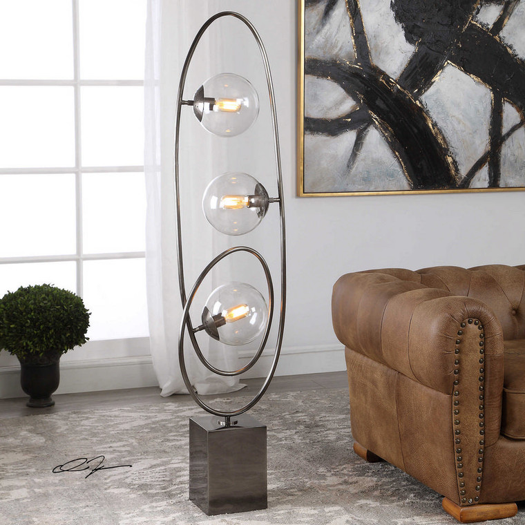Cleonie Floor Lamp by Uttermost