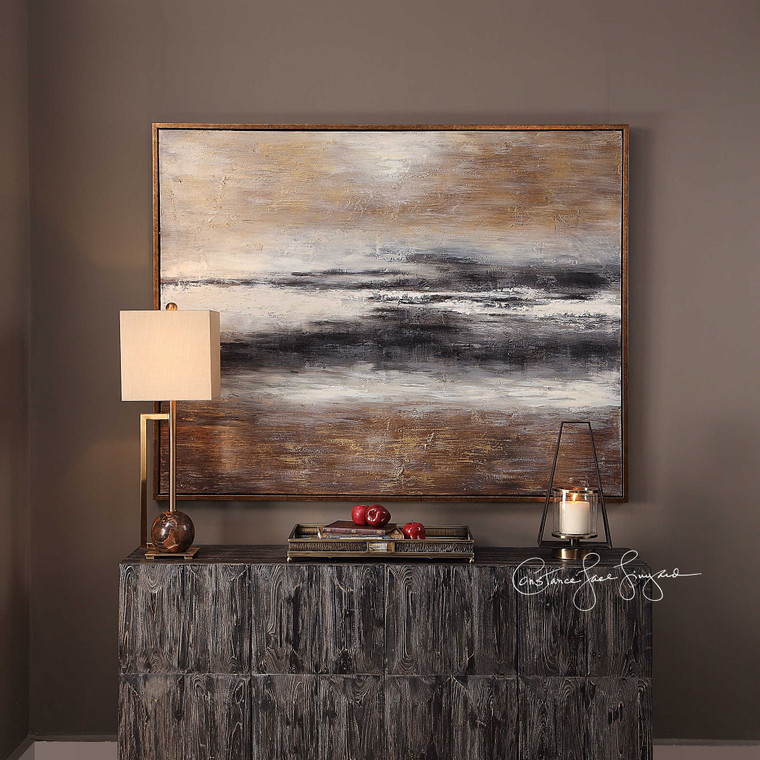 Moonlight Hand Painted Canvas by Uttermost