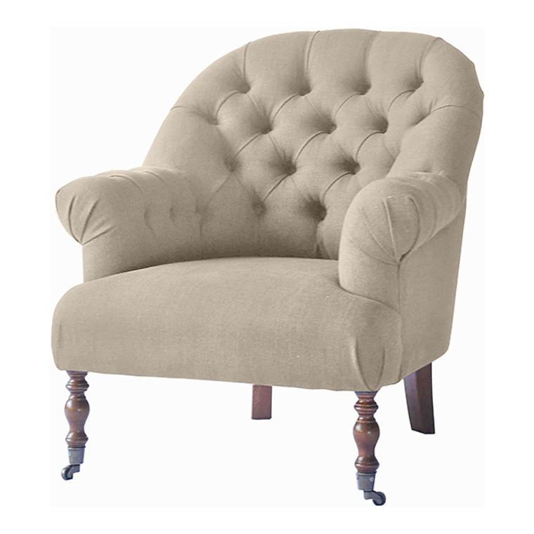 Duchess Tub Chair - Natural Linen by Maison Living