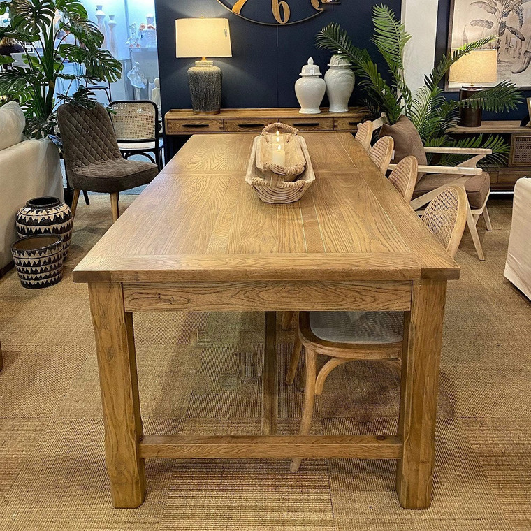 Extendable Oakwood Dining Table by Maison Living