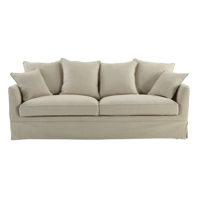 Portsea 3 Seat Sofa COVER ONLY - Beige by Maison Living