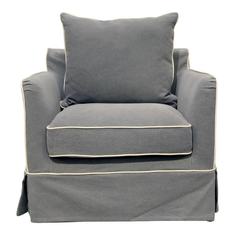 Portsea Armchair - Grey by Maison Living