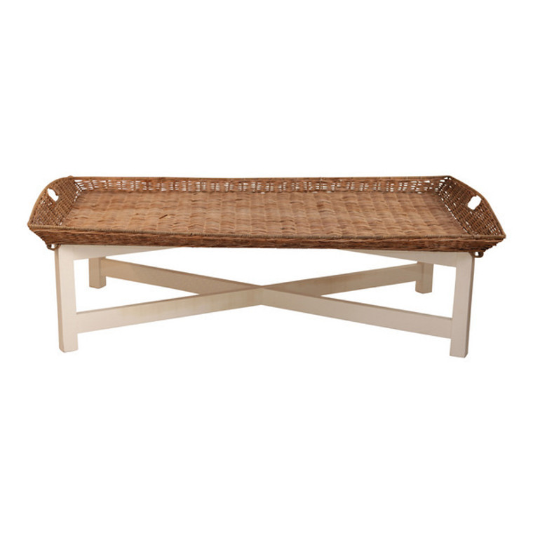Hamptons Rattan Top Coffee Table by Maison Living
