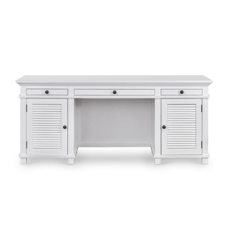 Hamptons Shutter Desk White by Maison Living