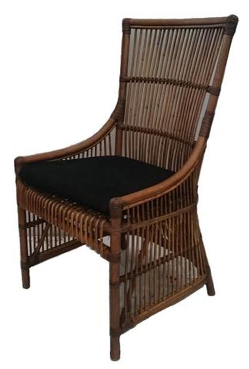 Como Side Chair with Cushion - Coastal Style
