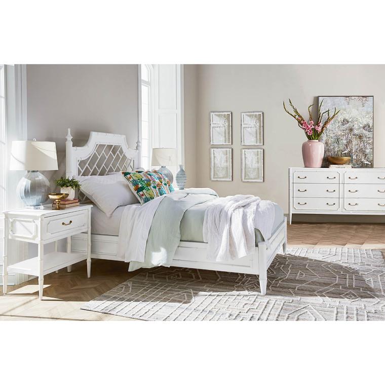 Chelsea Queen Bed - Oriental Chinoiserie Bedroom Suite