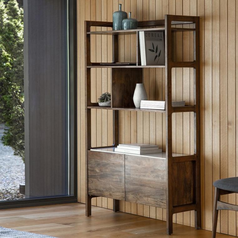 Bergen Scandinavian Mid-Century Modern Display Unit