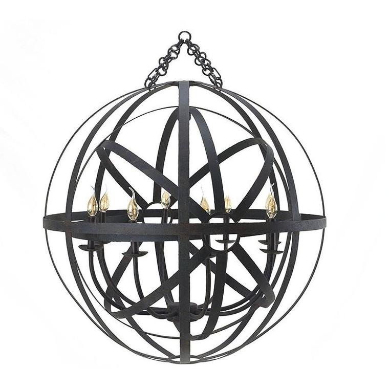 Da Vinci Orbital Chandelier Small - Size: 91H x 91W x 91D (cm)