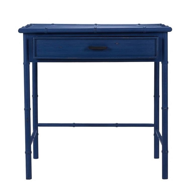 Cane Desk - Size: 79H x 78W x 50D (cm)