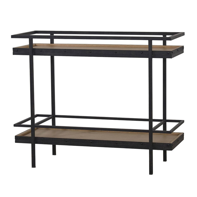 Butlers Vintage Bar Table - Size: 85H x 104W x 41D (cm)