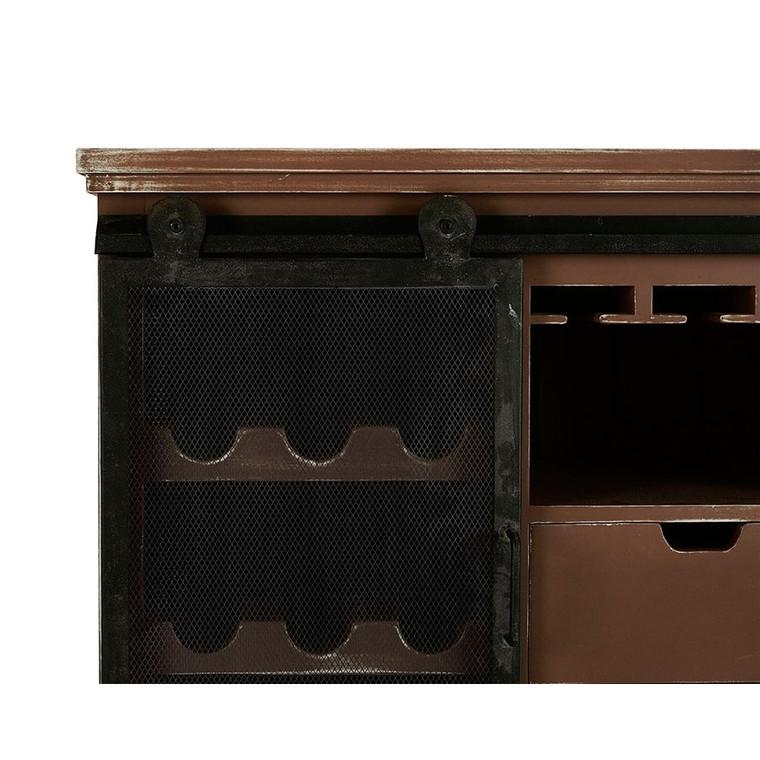 Stratton Wine Cabinet - Size: 94H x 94W x 48D (cm)