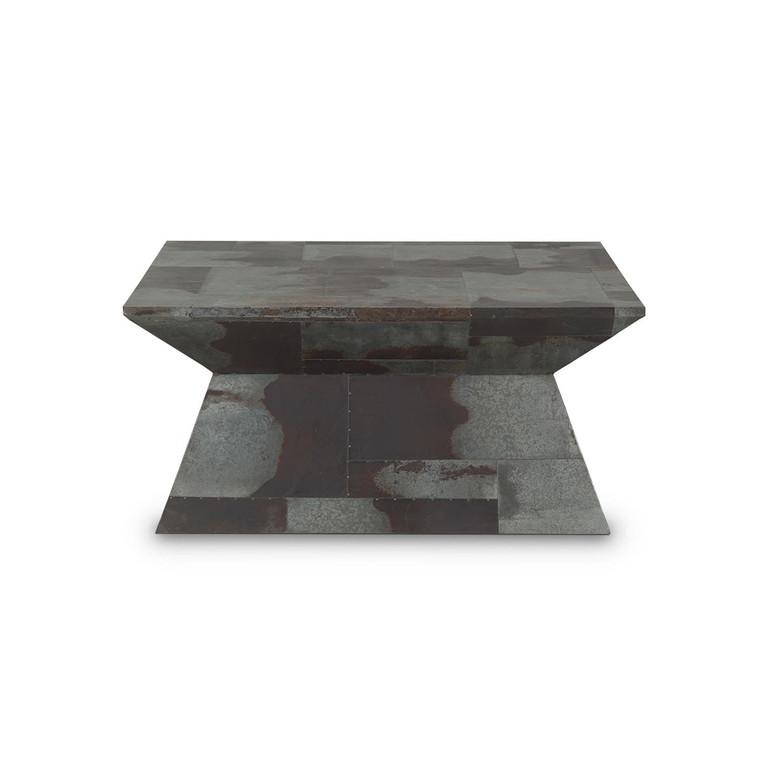 Retro Urban Coffee Table - Size: 42H x 91W x 91D (cm)