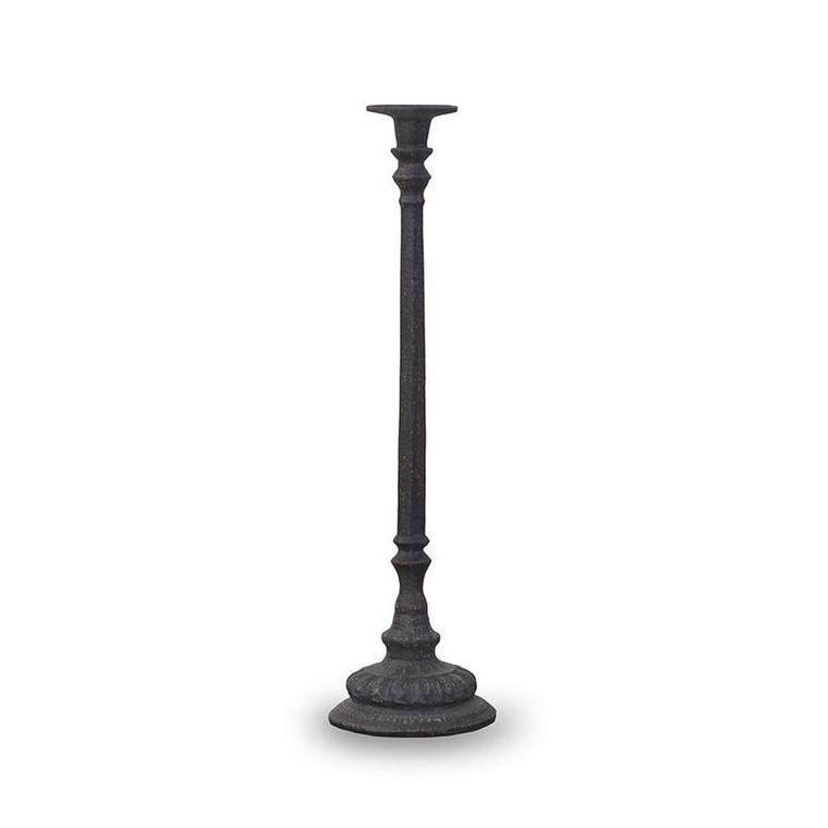 Apollo Iron Candlestick - Size: 51H x 13W x 13D (cm)