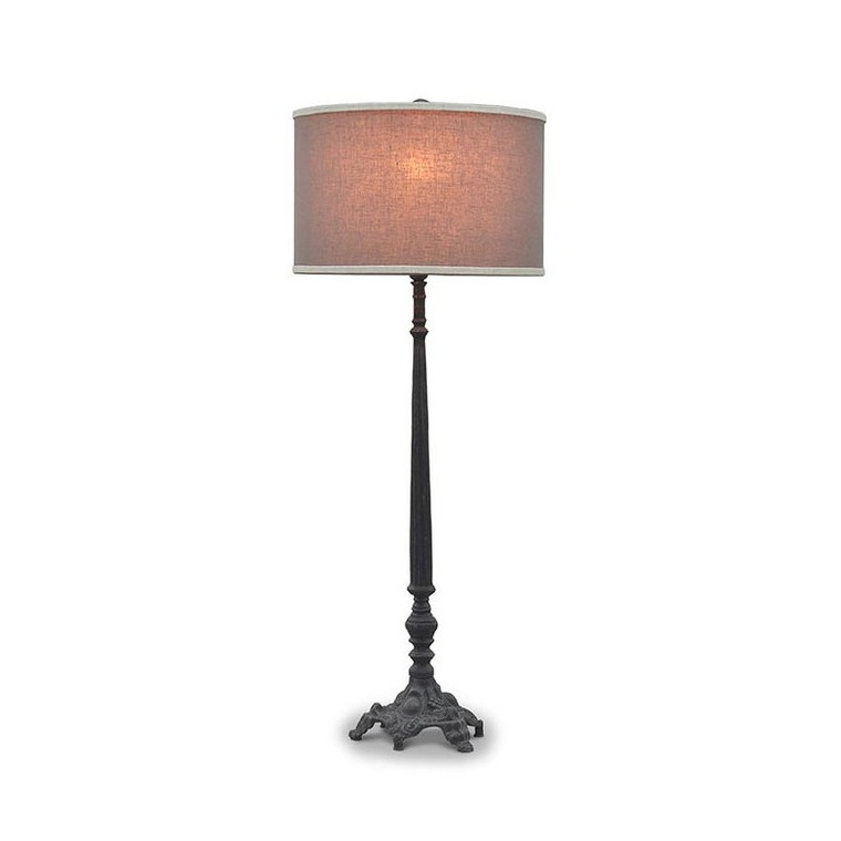 Laurel Iron Floor Lamp - Size: 104H x 56W x 56D (cm)