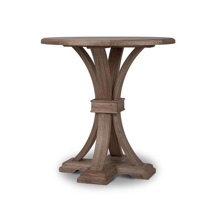 Tuscan Round Pub Table - Size: 107H x 109W x 107D (cm)