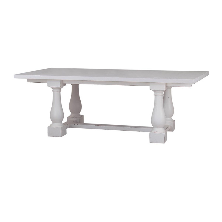 Hemmingway Dining Table 210cm w/out Grooves - Size: 76H x 213W x 102D (cm)