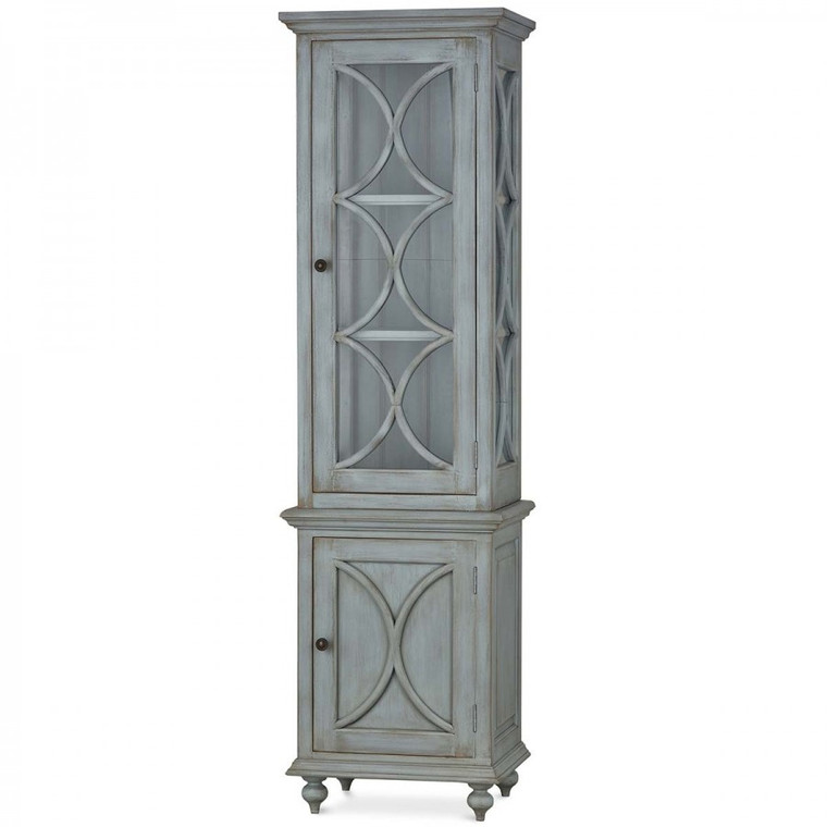 Hamilton Display Cabinet - Size: 198H x 56W x 43D (cm)