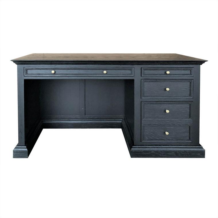 Winchester Traditional Desk - Black Oak Grain