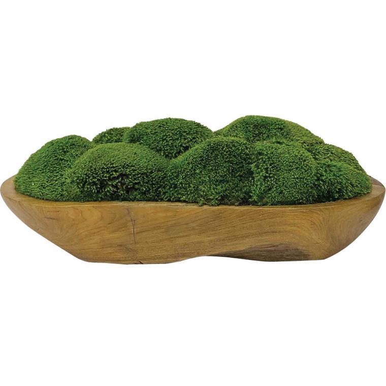 Kinsale Moss Centrepiece - Size: 18H x 48W x 23D (cm)
